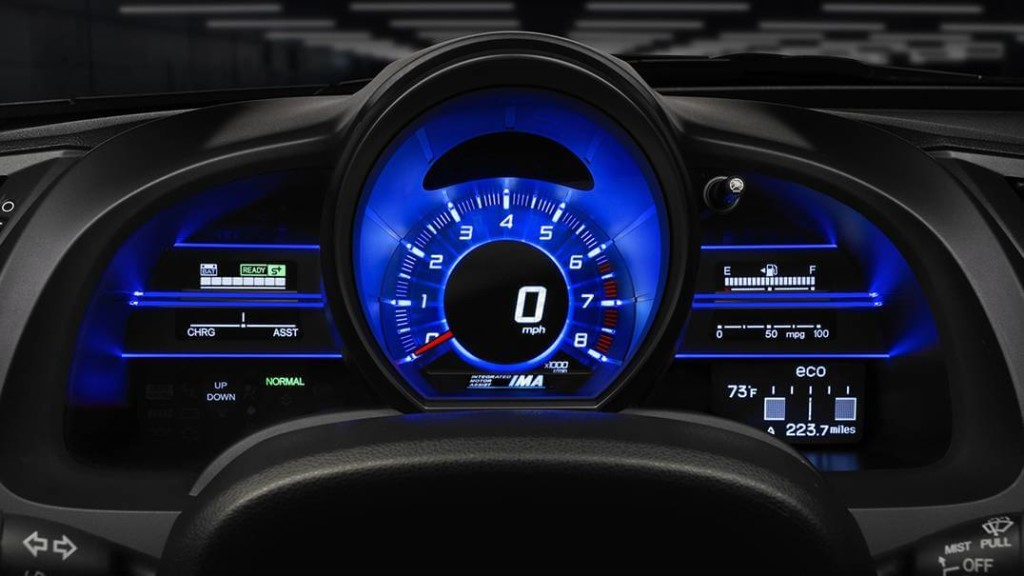 2016 Honda CR-Z 3-Mode-System