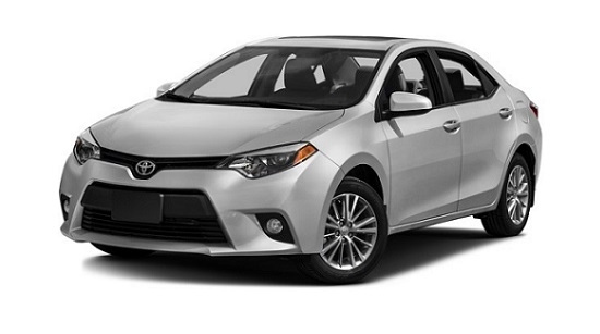 2016 Toyota Corolla Front Gray