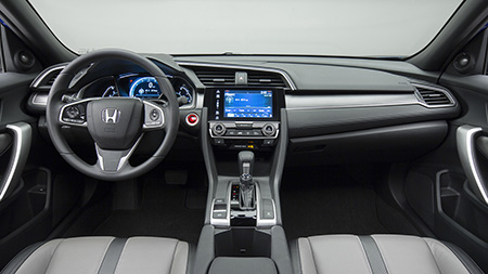 2016 Civic Coupe Interior
