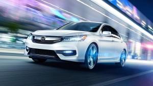 2016 Honda Accord white