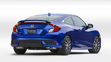 2016 Civic Coupe exterior