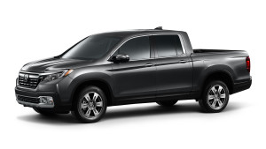2017 Honda Ridgeline on white