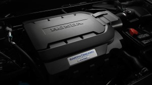 2016 Honda Accord engine closeup