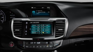 2016 Honda Accord technology