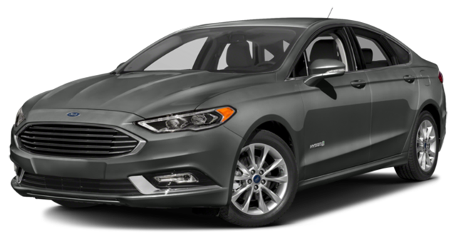2017 Ford Fusion Hybrid gray
