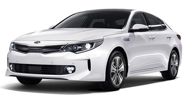 2017 Kia Optima white