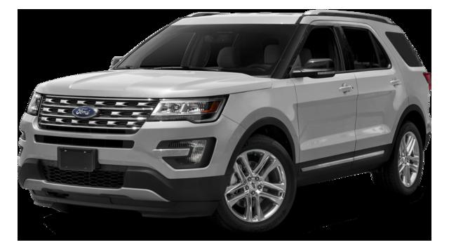 2016 Ford Explorer white