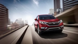 2016 Honda CRV red