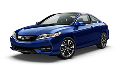 2017 Honda Accord Coupe Blue