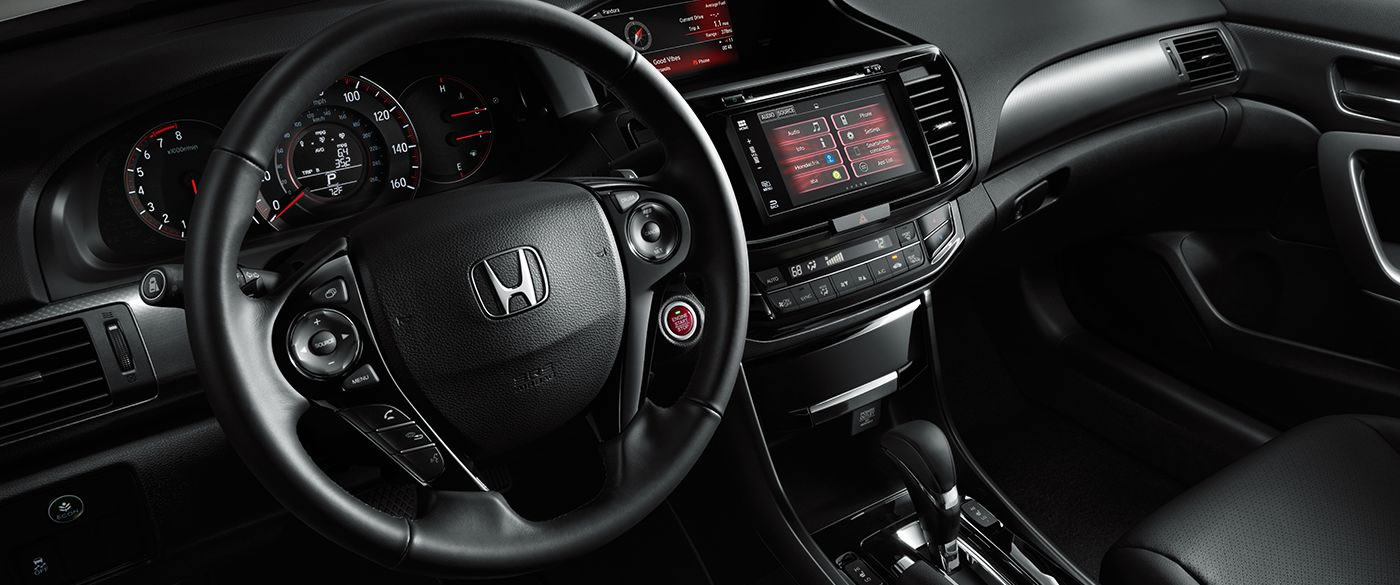 2017 Honda Accord Coupe Dash