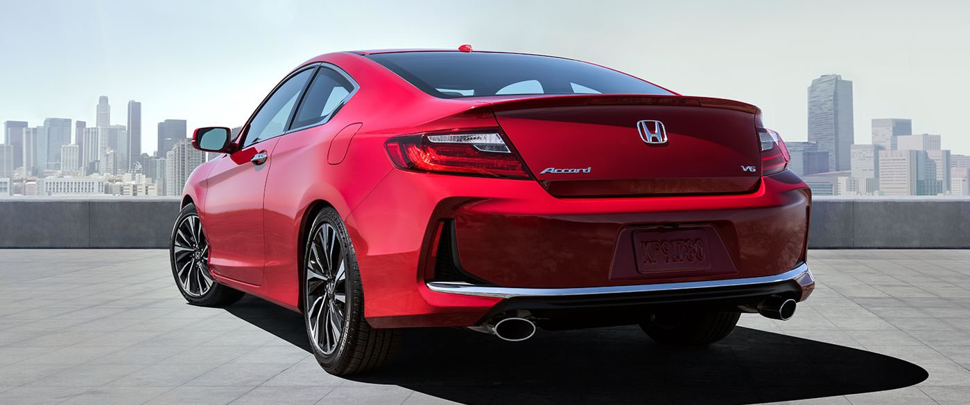 2017 Honda Accord Coupe Rear