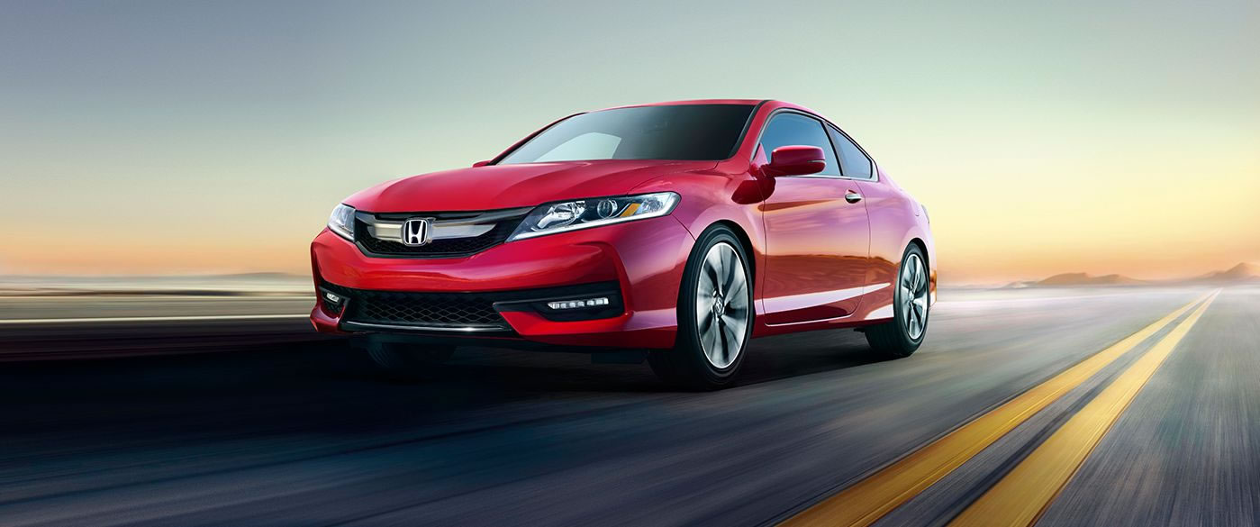 2017 Honda Accord Coupe Red
