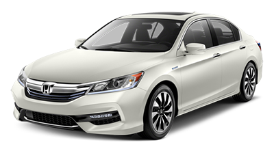 2017 Honda Accord Hybrid White