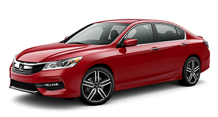 2017 Honda Accord Sedan Red