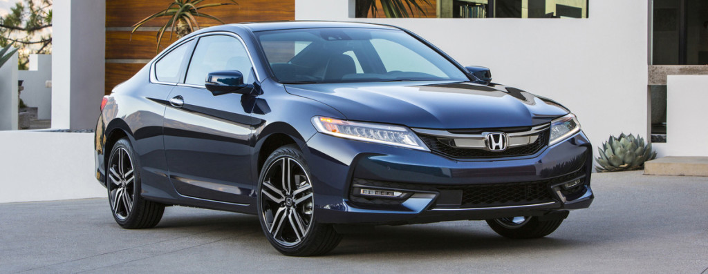2016 Honda Accord Coupe Parked