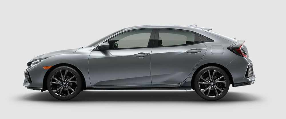 2017 Honda Civic Hatch Side