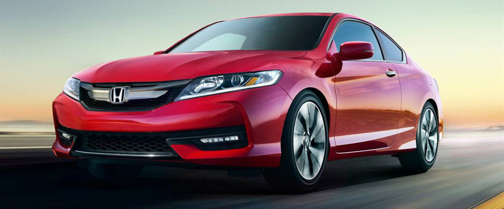 2016 Honda Accord Coup Red