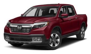 2017 Honda Ridgeline Red