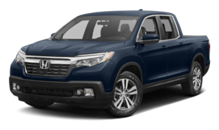 2017 Honda Ridgeline Blue