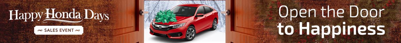 Happy Honda Holidays