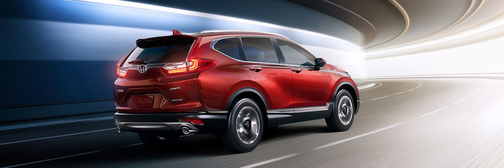 2017 Honda CR-V Driving