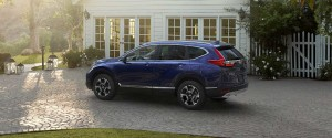 2017 Honda CR-V Blue