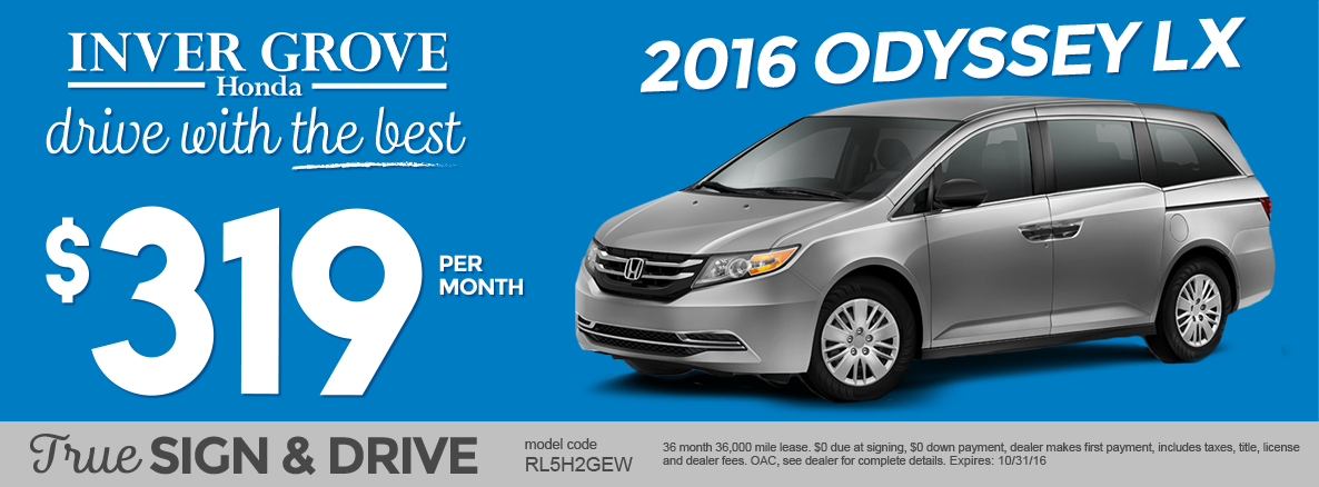 All New Honda Specials In Inver Grove Heights Mn Inver