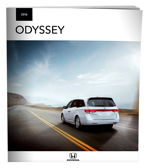 2016 Odyssey Brochure