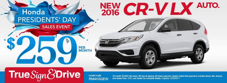 New Honda CR-V Lease Special MN   Minneapolis   St. Paul ...