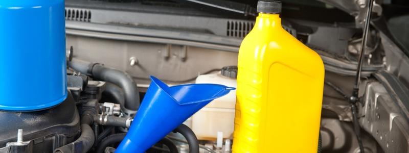 Car maintenance oil change