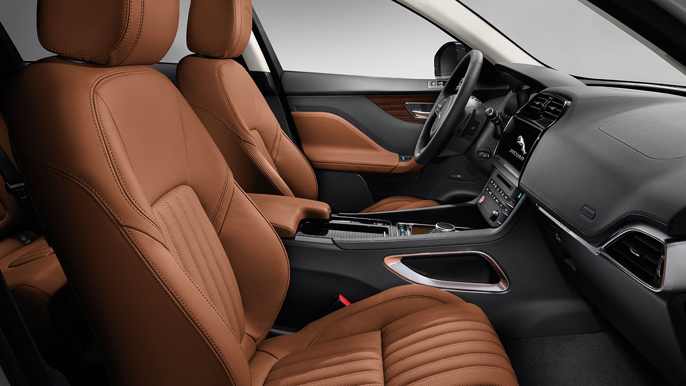 2017 Jaguar F-Pace Interior Cabin