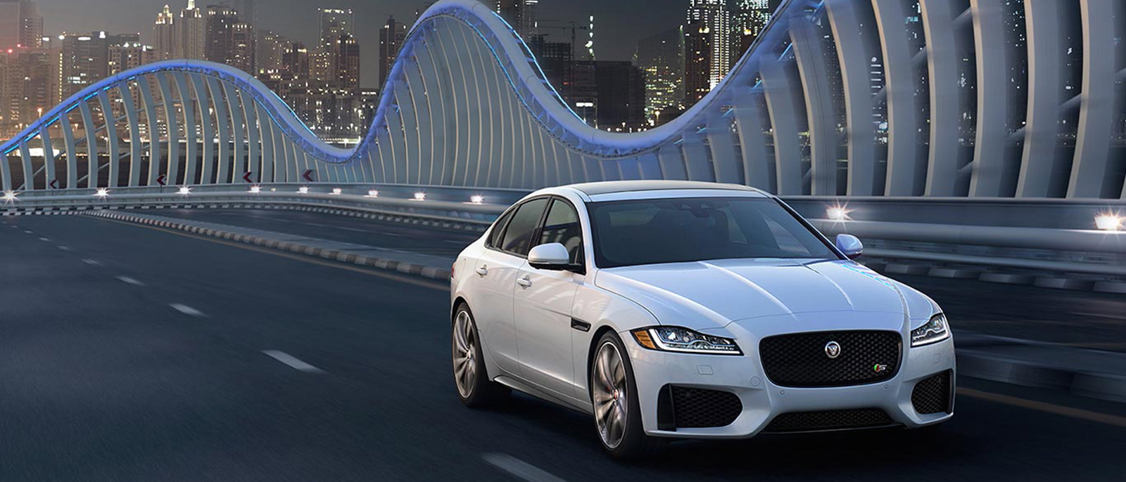 Jaguar XF Driving