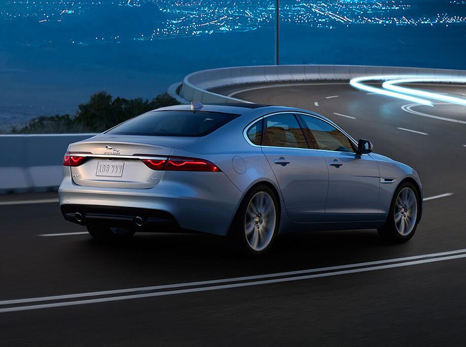 2017 Jaguar XF on road