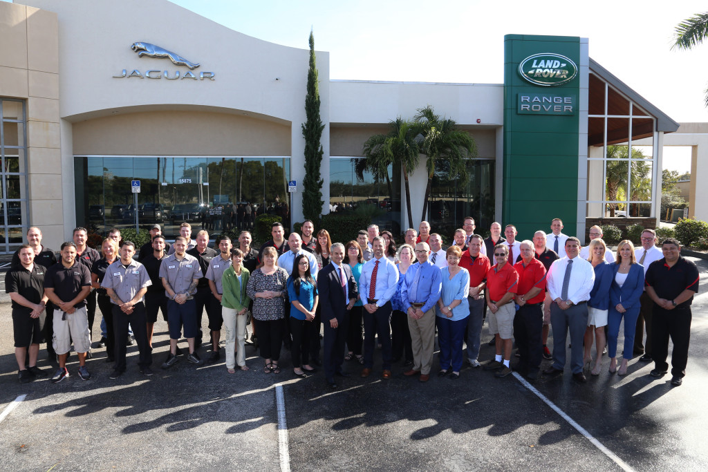 Ft. Myers JLR Friendly Staff