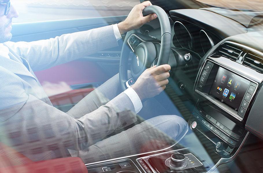 2017 Jaguar XE driver
