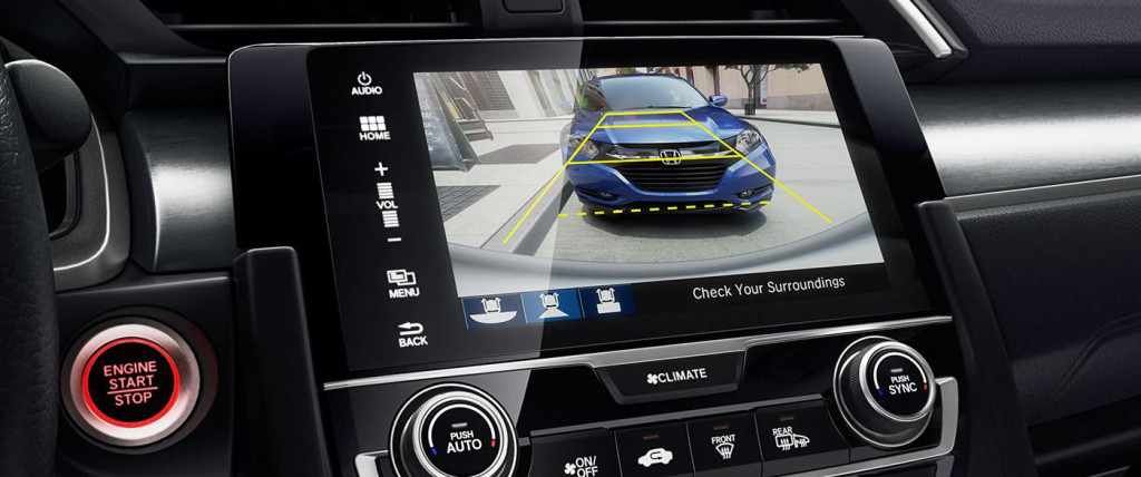 2017 Honda Civic touch screen