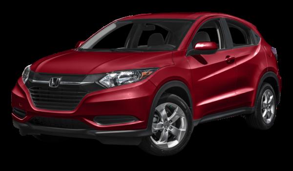 2016 Honda HR-V red exterior