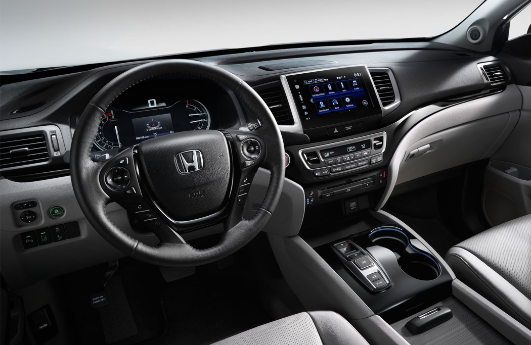 2016 Honda Pilot interior technology