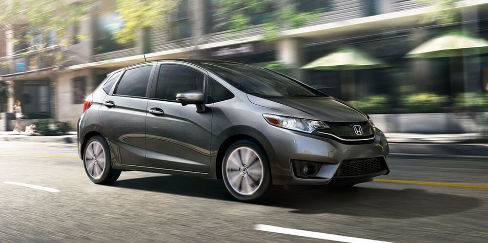 2017 Honda Fit Gray
