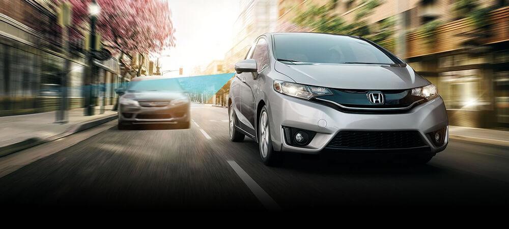 2017 Honda Fit Blind Spot