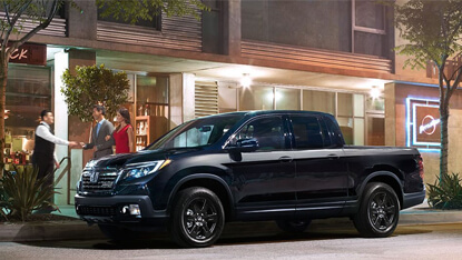 2017 Honda Ridgeline trims