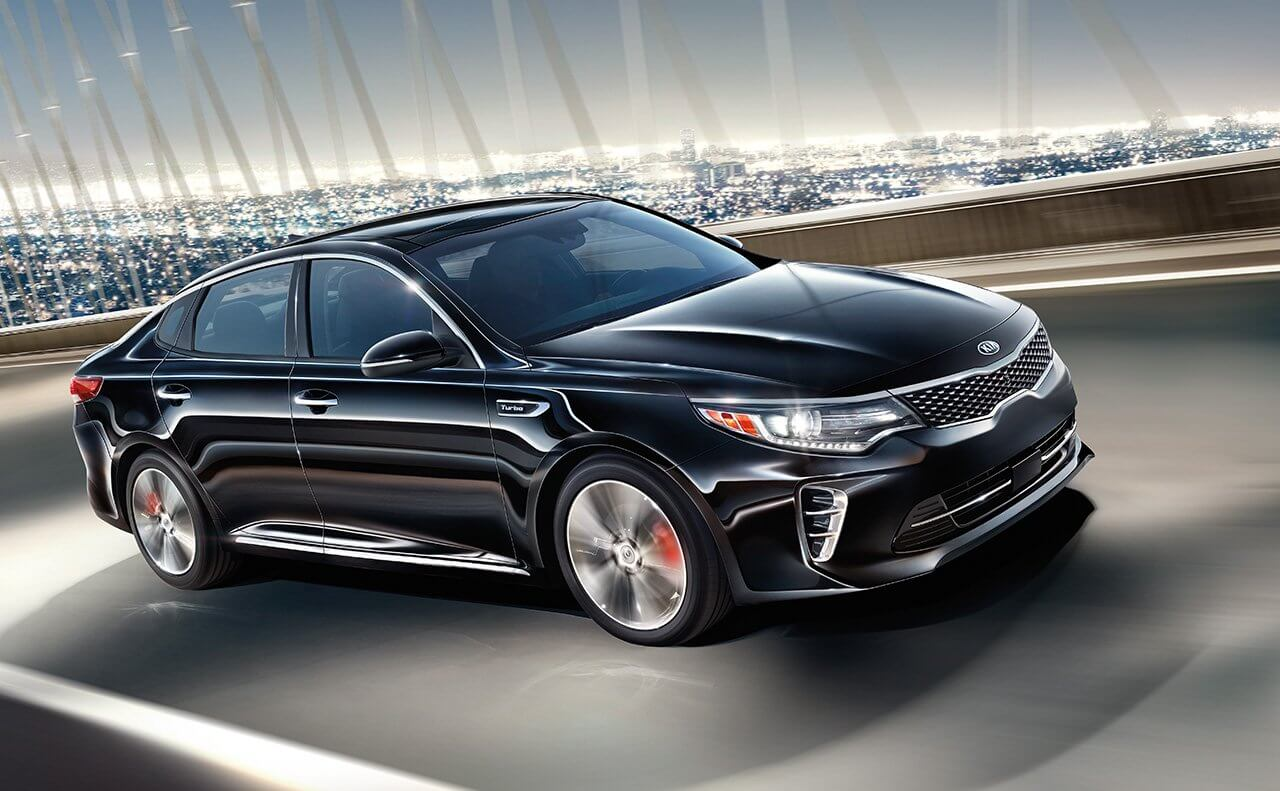 2016 Kia Optima dark exterior