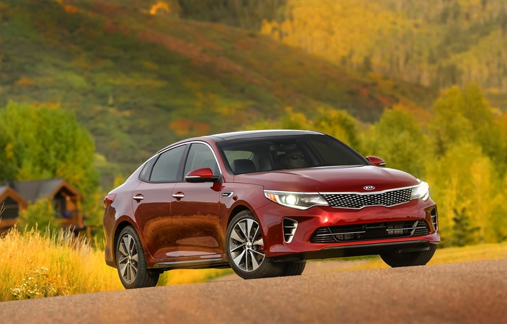 2016 Optima SX 2.0 Turbo red exterior