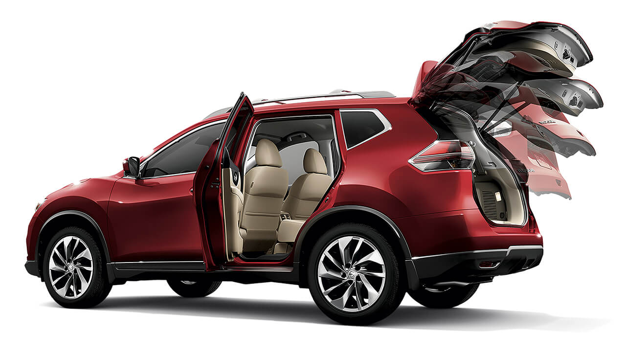 2016 Nissan Rogue power liftgate