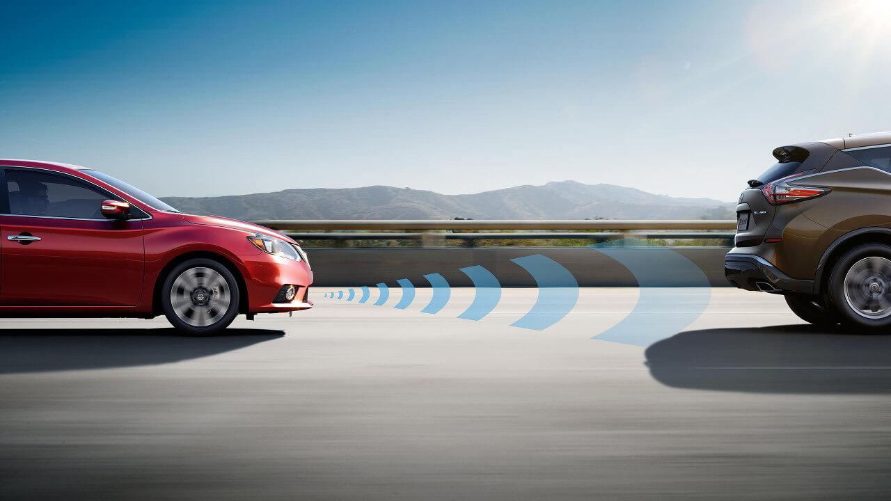 2016 Nissan Sentra Intelligent Cruise Control