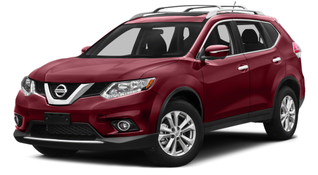2016 Nissan Rogue Red