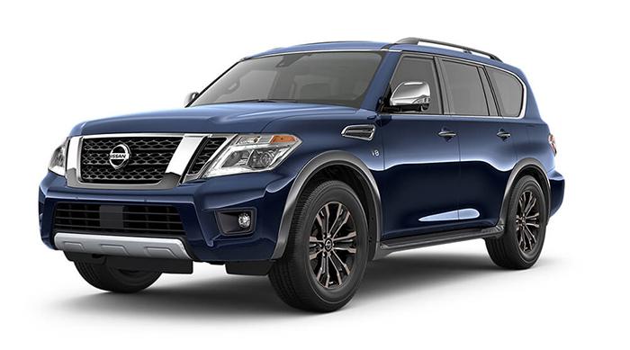 2017 Nissan Armada Blue