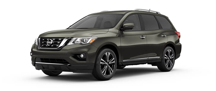 2017 Nissan Pathfinder Gray