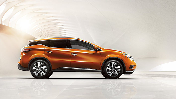 2017 Nissan Murano orange