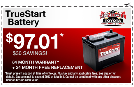 TrueStart Battery